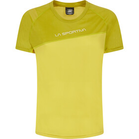 La Sportiva Catch T-Shirt Dames, celery/kiwi